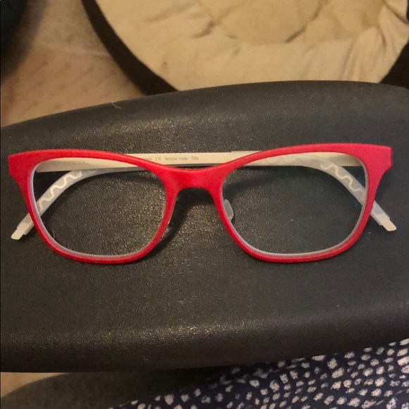 monoqool Accessories   Euc Deep Red 3d Printed Rx Optical Frame ...